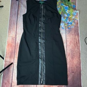 Lauren Ralph Lauren Black sleeveless Dress 10